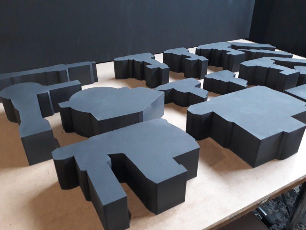 CNC 3D, XPE Schaumstoff, 3D-CNC-Fräsen und schneiden aus Vollmaterial, individuell nach Kundenwünschen, wir verwirklichen wirklich alles