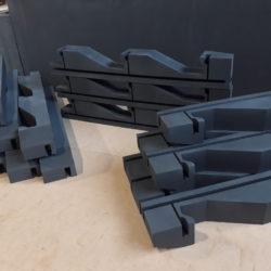 Pianki automotive, XPE Schaumstoff, 3D-CNC-Fräsen und schneiden, Automobilindustrie, Lager- und Transportschutz