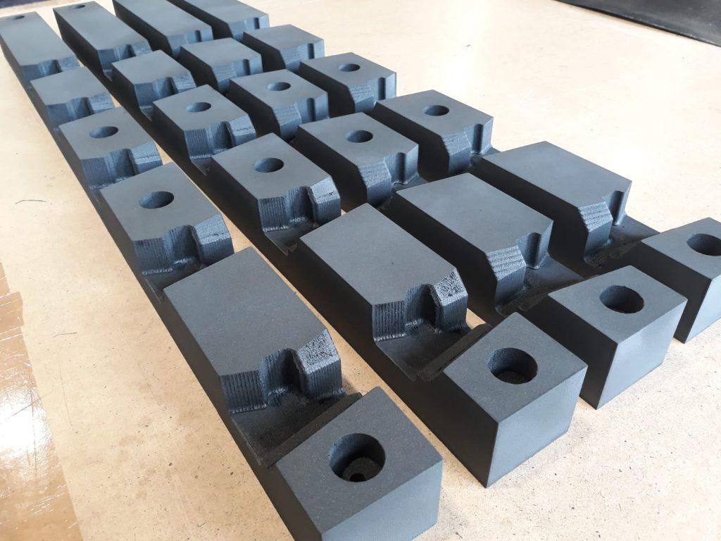 CNC 3D, XPE Schaumstoff, 3D-CNC-Fräsen_