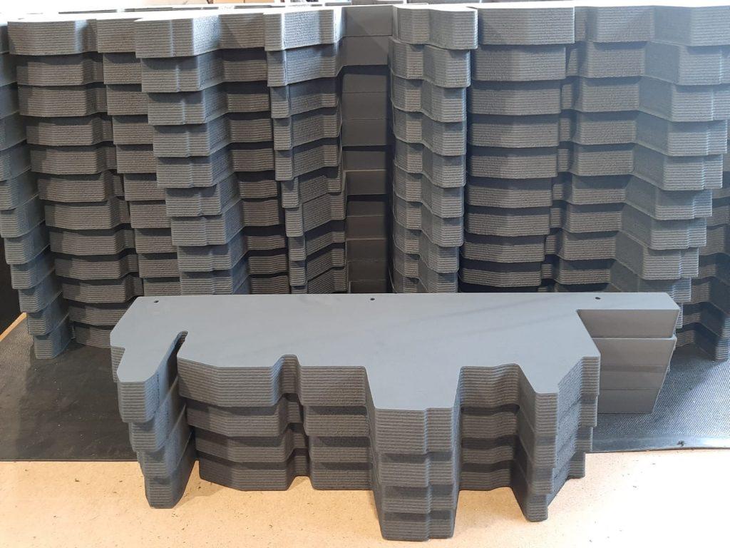 Zabezpieczenia piankowe, XPE Schaumstoff, Autoindustrie, Transportaufnahme Material, Automotive Tranport Security Packaging
