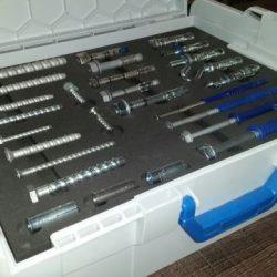 Skrzynki narzędziowe, Schaumstoff, Koffereinsatz, Spezialanfertigung, CNC-Fräsen und schneiden