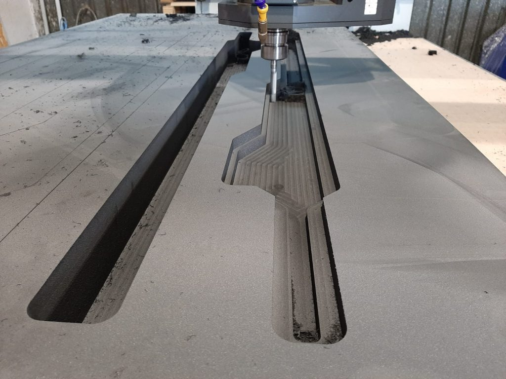 Frezowanie pianki CNC, CNC Frasen, CNC Milling