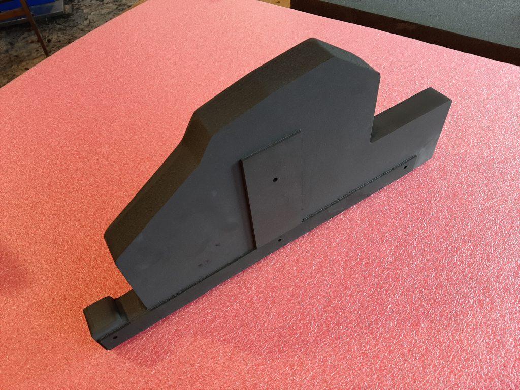 Grzebień transportowy zgrzewany z pianki polietylenowej,Schutzvorrichtung Schaum, Transport protection Foam