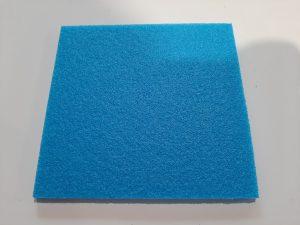 Modrá polyethylenová pěna, Polyethylen Schaumstoff blau, Polyetylene Foam blue