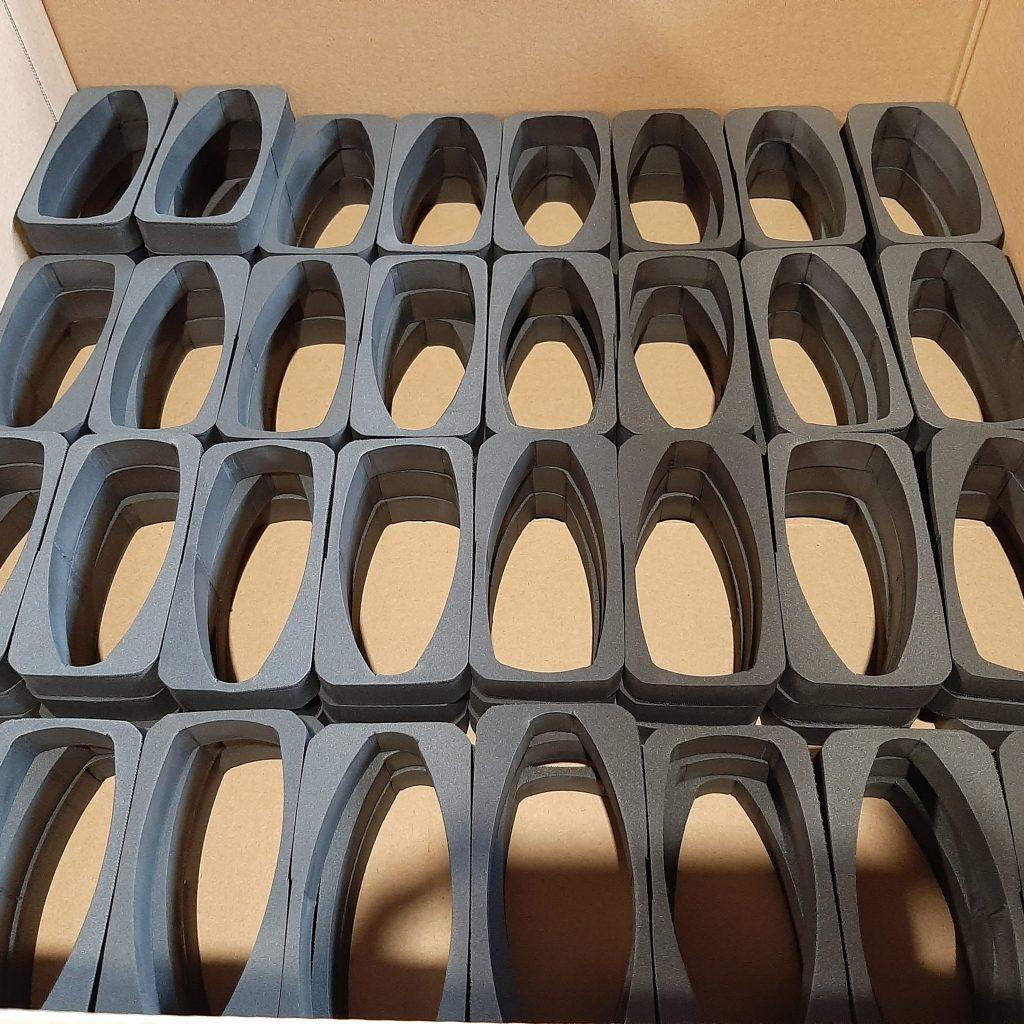 Pianki do pudełek, SpezialmSchuam Verpackung, Foam Filling for Boxes