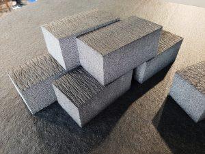 Wkłady piankowe, XPE Schaumstoff, Koffereinsatz, Spezialanfertigung, CNC-Fräsen und schneiden, Waffenkoffer, Foam for Packaging