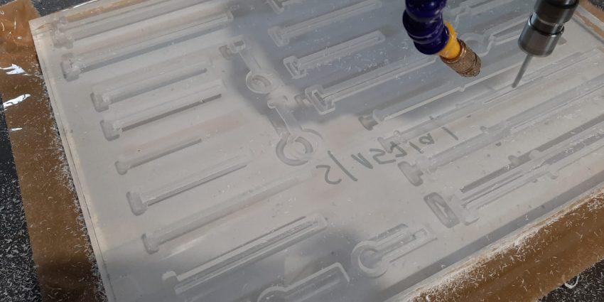 Frezowanie plexi