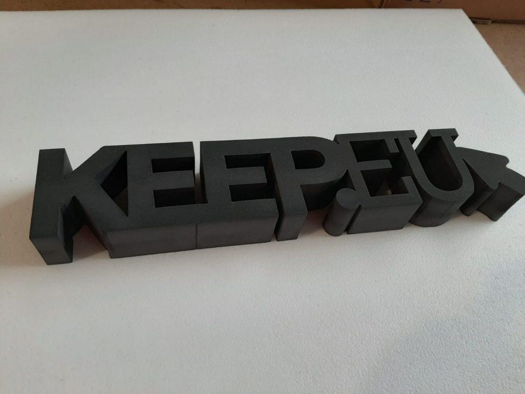 Litery 3D, 3D Buchstaben, 3D Letters