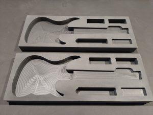 Wkład ochronny na gitarę, Guitar protection foam, Guitar Koffereinlagen